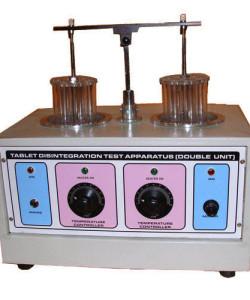 Tablet Disintegration Double Test Apparatus