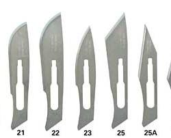 scalpel blades 4